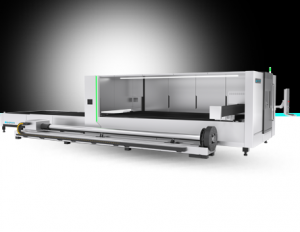 Enclosed Plate Tube Integrated Laser Cutting Machine